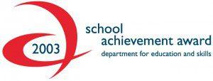 School Achievement Award 2003